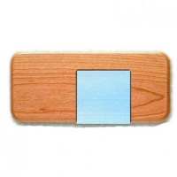Post It Note Holder Base | Big Sky Woodcrafters