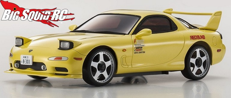 Kyosho INITIAL-D Mazda RX-7 FD3S Mini-Z « Big Squid RC – RC Car and Truck News. Reviews. Videos. and More!