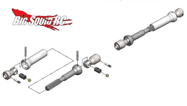 MIP Spline CVD Center Drive Kit For The Axial Wraith « Big