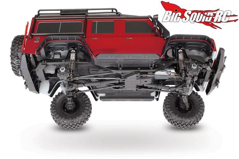 Details Traxxas TRX4 Land Rover Defender  Big Squid
