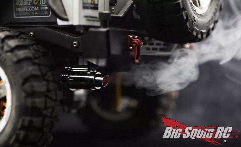 killerbody rc smoky exhaust pipe w led
