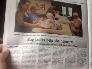The Bag Ladies of Bemidji