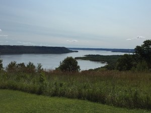 View of Lake Pepin (Mississippi River) from Picnic Area