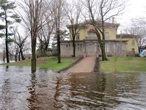 Villa Louis Survives Flood