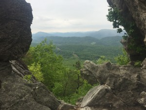 View from Dragons Tooth