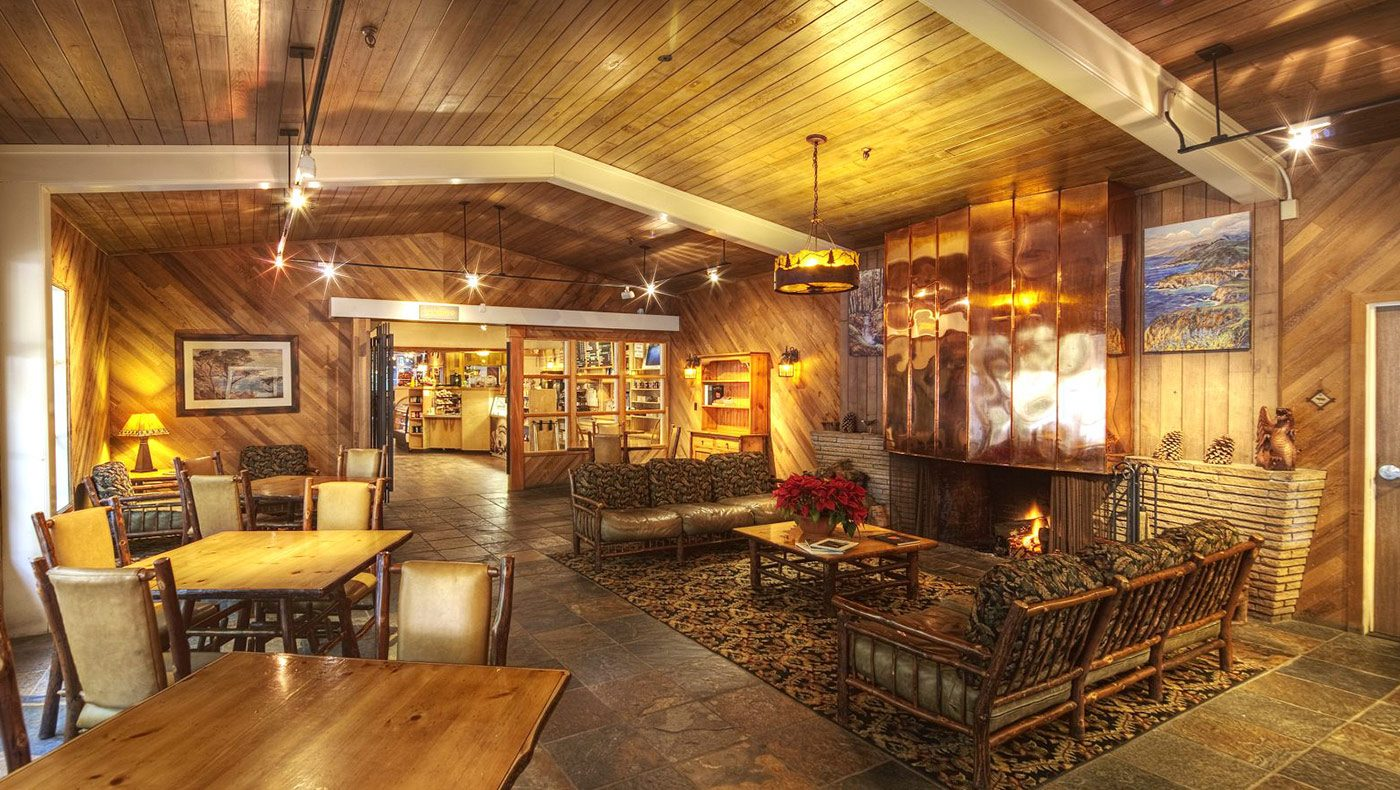 Big Sur Lodge  Pfeiffer Big Sur State Park  California