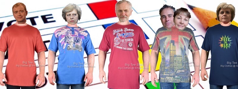 Premature Elections and Big Tee Shirts