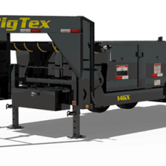 Dump Trailers For Sale Root Cellar Ventilation Diagram Big Tex The 14gx Tandem Axle Low Profile Extra Wide Trailer From Is A Great Way To Gain Features Of Our Popular 14lx In Gooseneck