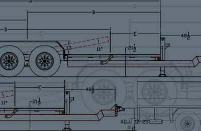 big tex trailer 7 pin wiring diagram 12 volt rocker switch trailers resource center product guide