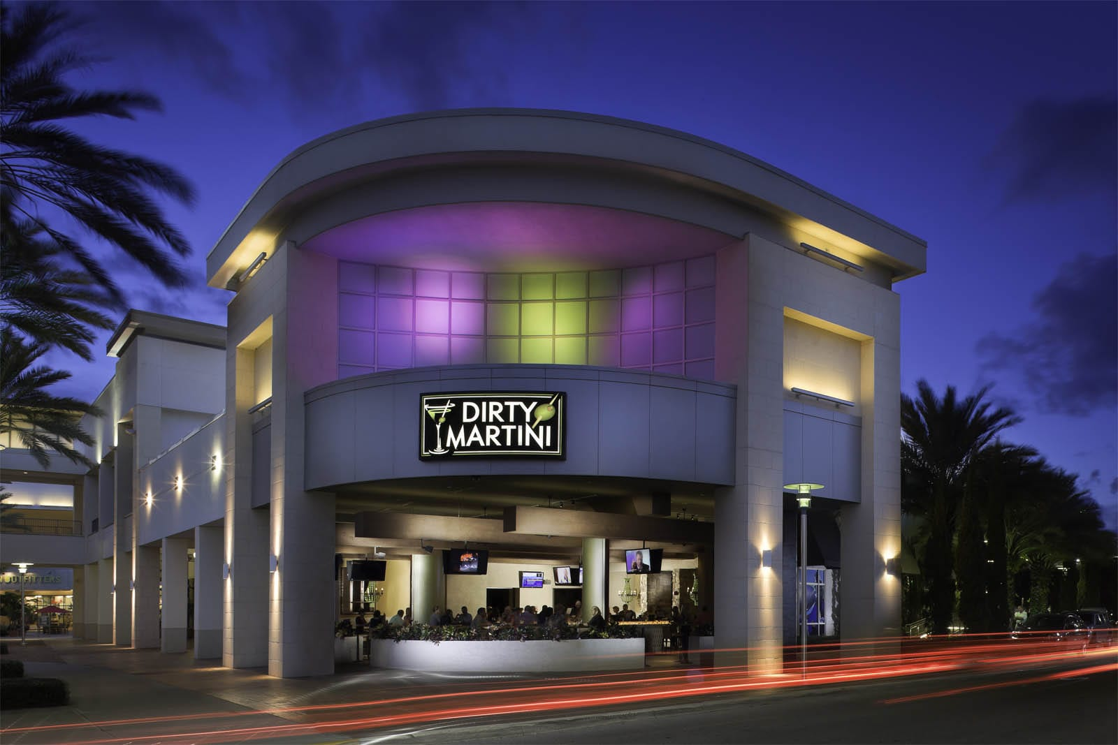 Dirty Martini  Hotel Restaurant  Nightclub Design by Big Time Design Studios