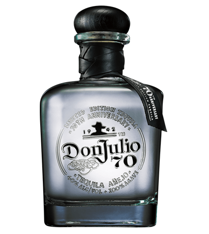 Don Julio 70th Anniversary Tequila Anejo Claro 750ml liquor