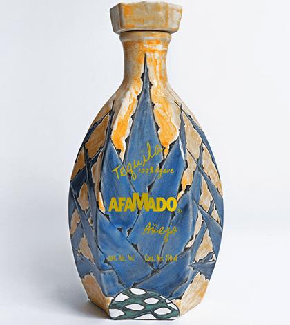 Afamado Extra Añejo Tequila (Ceramic Bottle) 750ml liquor