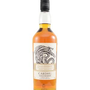 Game Of Thrones House Targaryen – Cardhu Gold Reserve 750ml liquor
