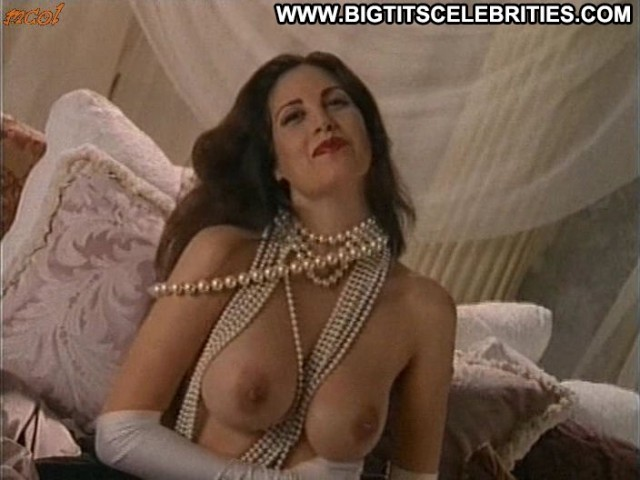 Gabriella Hall Centerfold Posing Hot Sultry Nice Celebrity Big Tits