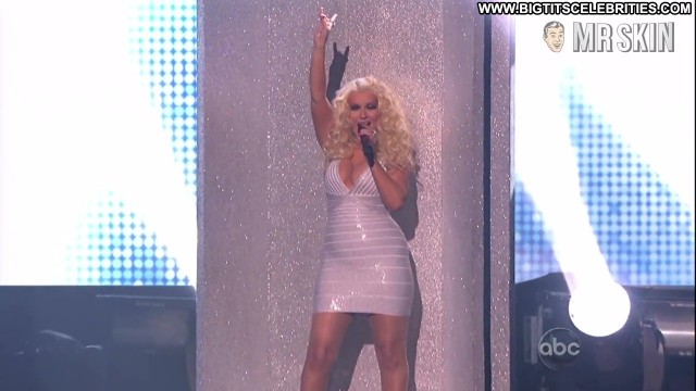 Christina Aguilera The American Music Awards Big Tits Big Tits Big