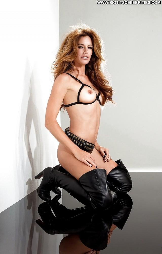 Kelly Bensimon Playboy Magazine Celebrity Sexy Sultry Medium Tits