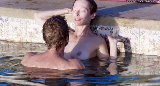 Tilda Swinton Beautiful Posing Hot Babe Actress Celebrity Nude Scene