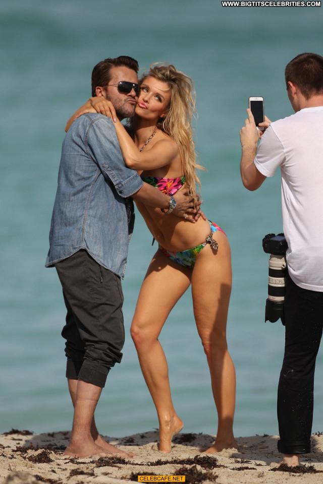 Joanna Krupa Beautiful Beach Sexy Celebrity Posing Hot Bikini Sex