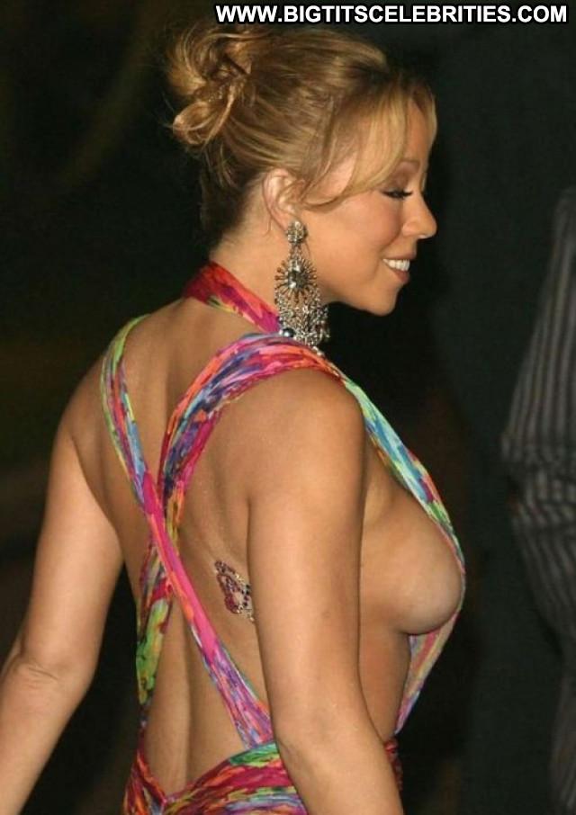 Mariah Carey New York Glamour French Celebrity Beautiful Bra Reality