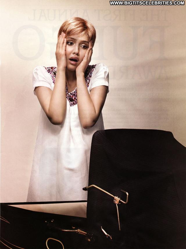 Jessica Alba Magazine Babe Posing Hot Beautiful Paparazzi Celebrity