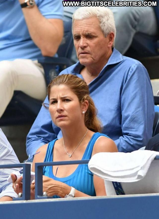 Mirka Federer No Source Posing Hot Beautiful Babe Paparazzi Tennis