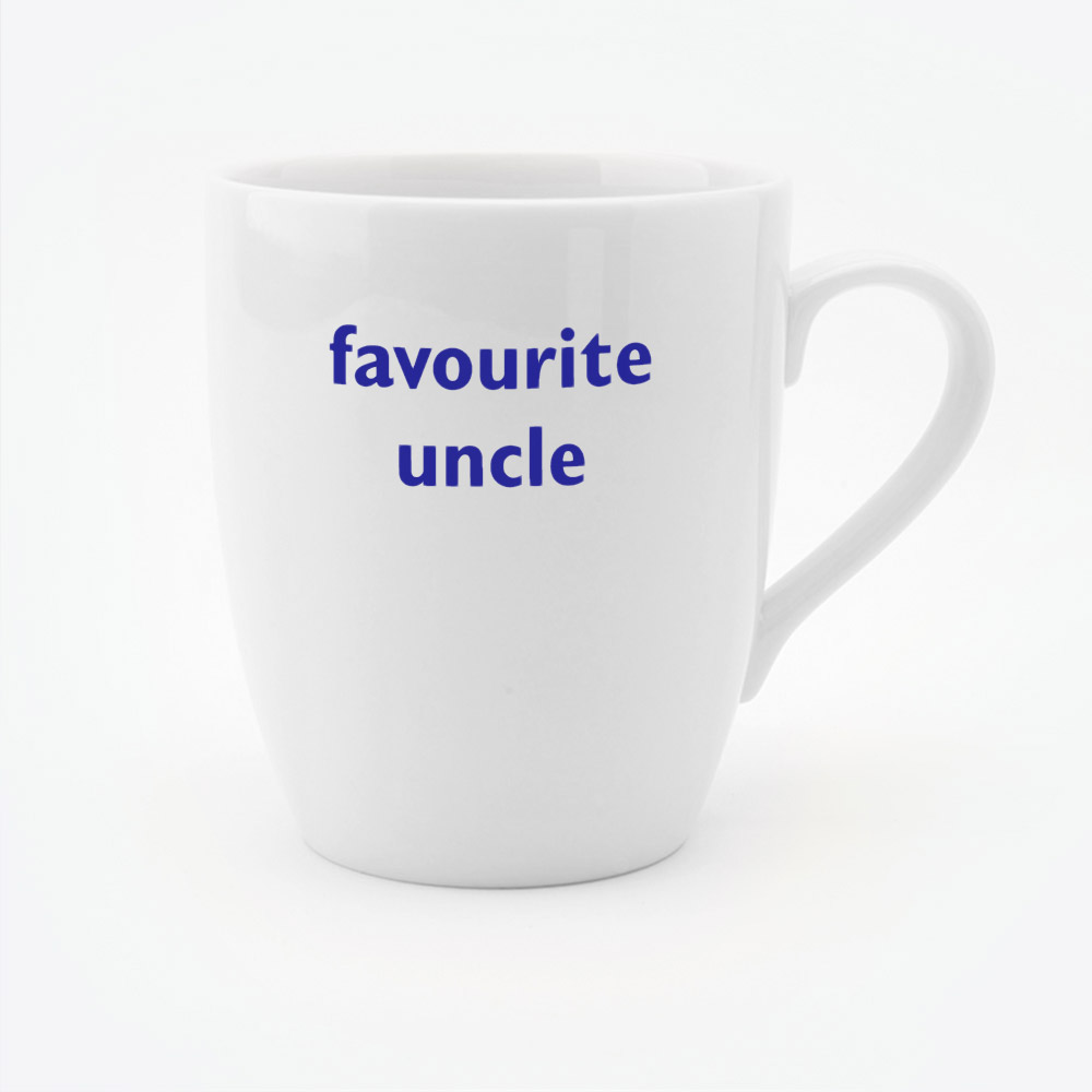 favourite uncle mug big