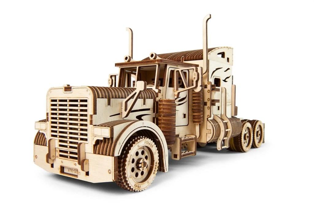 UGears Mechanical heavy Boy Truck Model Kit