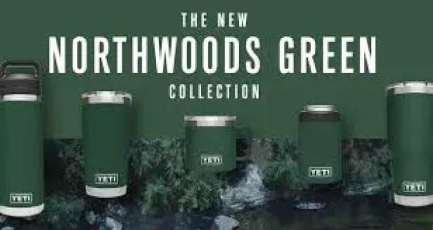 Northwoods green Yeti Drinkware