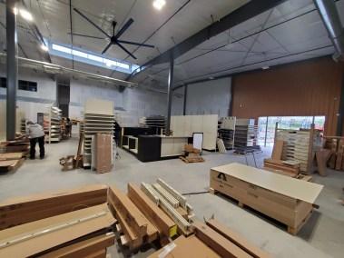Inside construction of the new Parker Colrado Big Tool Box