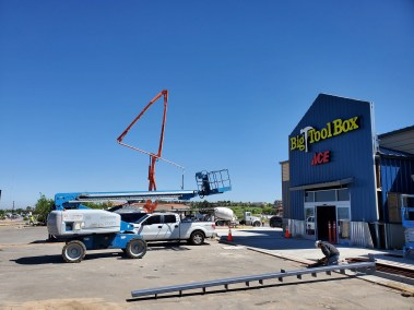 Front of building of the new Parker Colorado Big Tool Box