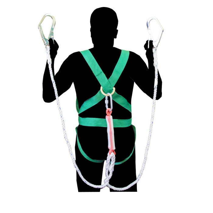 Bigtools Full Body Safety Harness Set Built In Double