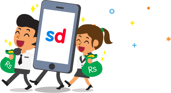 {Unlimited Trick} Snapdeal App Refer And Earn – Signup And Get Rs. 100 Cashback + Refer And Earn Rs.200 1