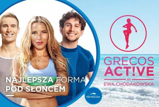 Grecos Active by Ewa Chodakowska - jedyny taki produkt w branży turystycznej!