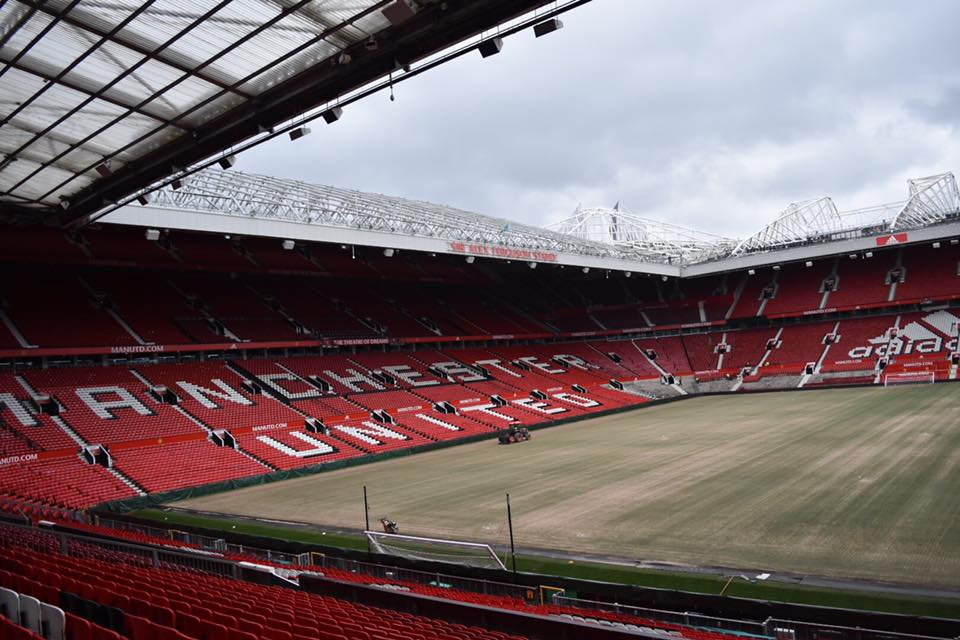 Manchester United Our Old Trafford Tour Big Turtle Small Owl
