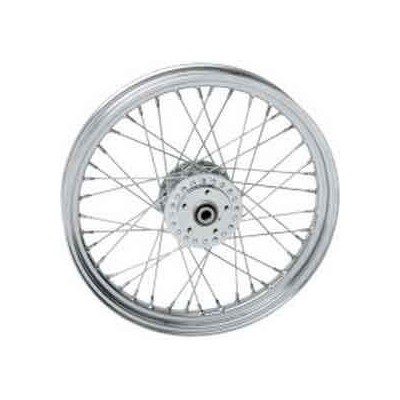 ROUE AVANT COMPLETE 40 RAYONS HARLEY FXR / FXD / FX / XL
