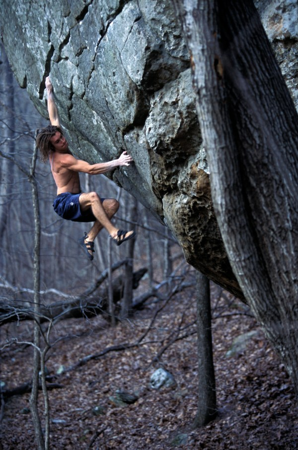 Chris Sharma Rock Climbing