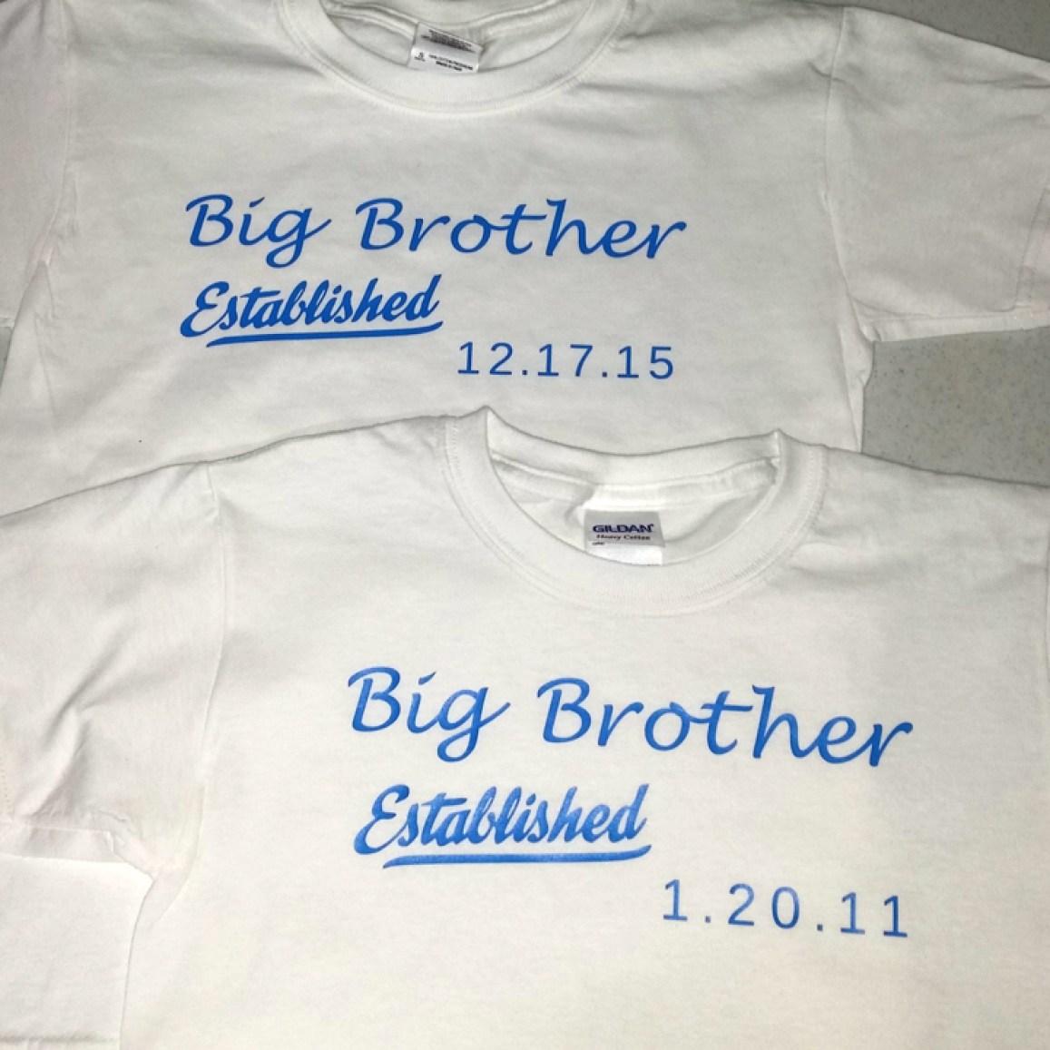 New Baby Custom T Shirts