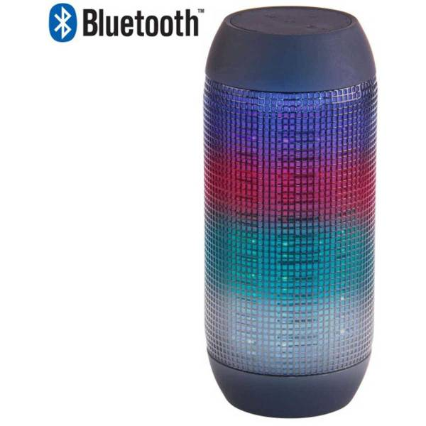 Laser Wireless Speaker With Led Lights & Fm Radio Medium