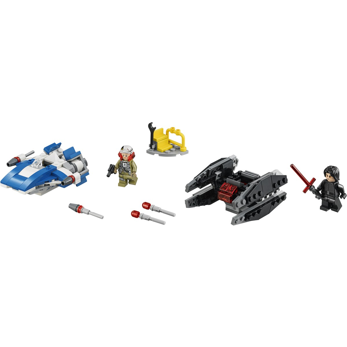 Lego Star Wars A Wing Vs Tie Silencer Microfighters