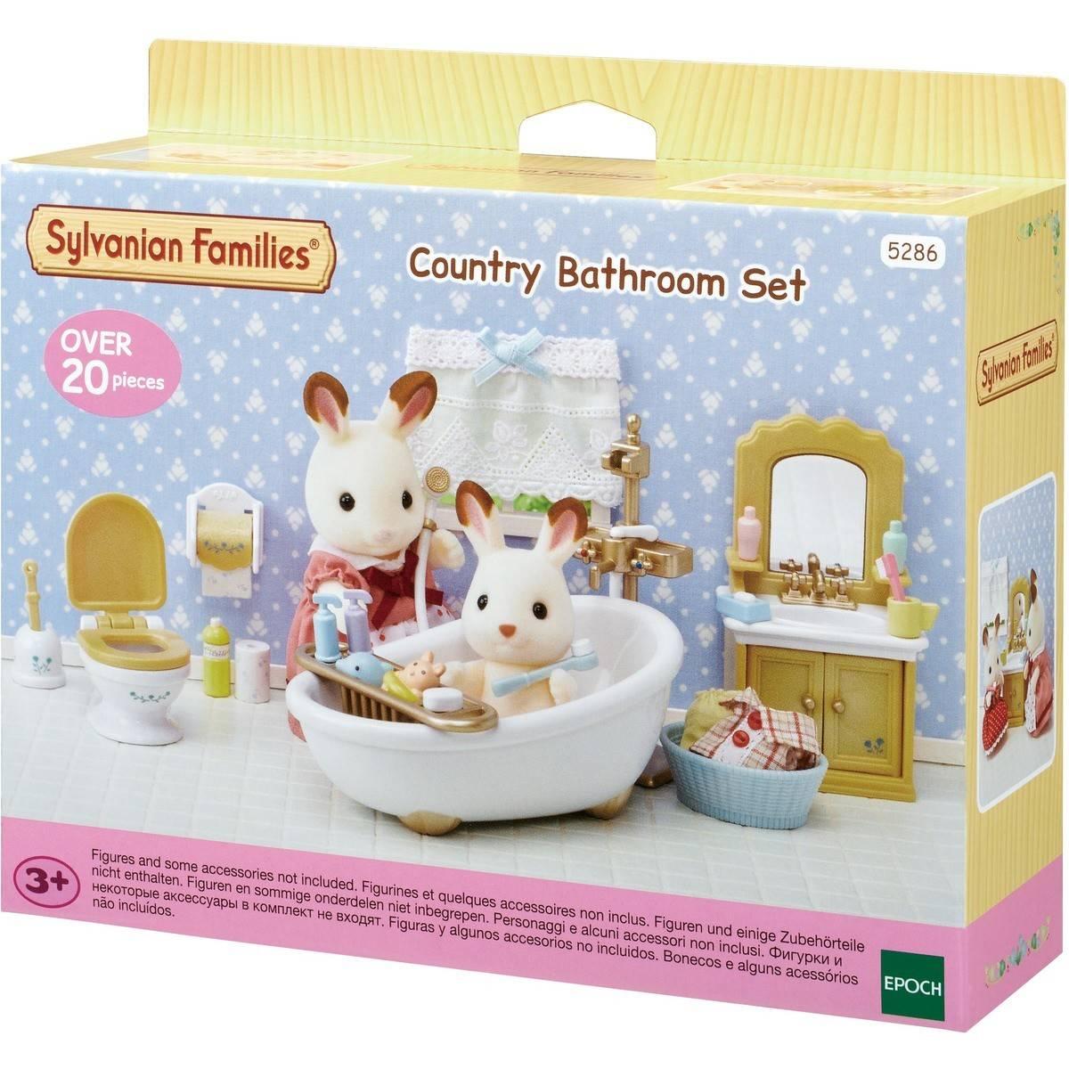 Sylvanian Families Country Bathroom Set Big W