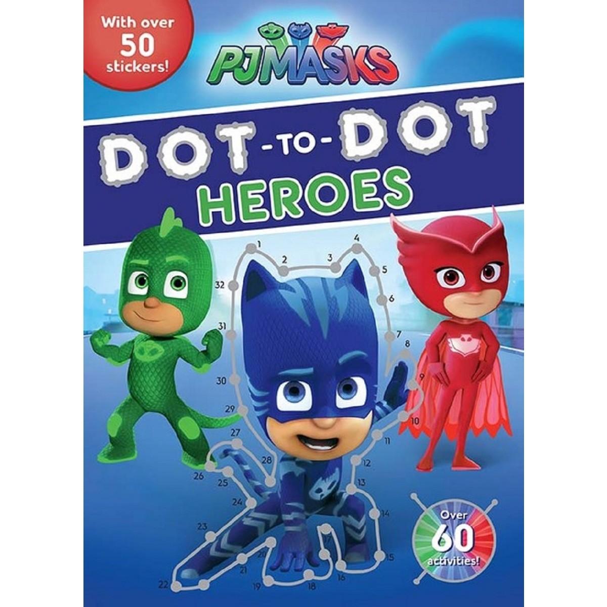 Pj Masks Dot To Dot Heroes