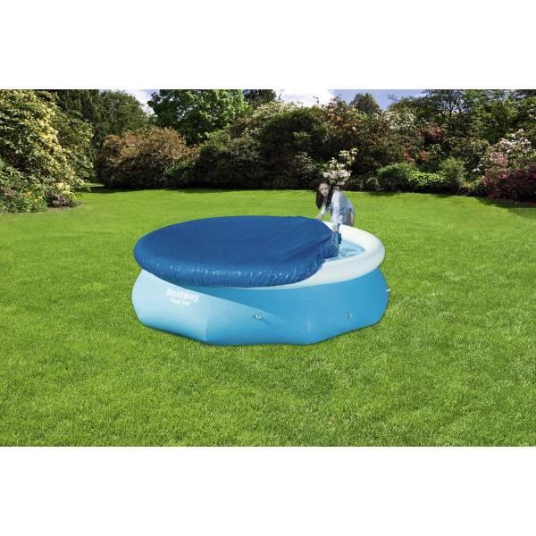 Bestway 10ft Debris Pool Cover - Blue Big