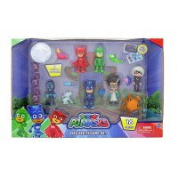 PJ Masks Deluxe 16 Piece Figure Set | BIG W
