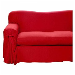 Big W Sofa Cushions Simmons Leather Sectional House And Home Plain Dye Cover 2 3 Seater Red