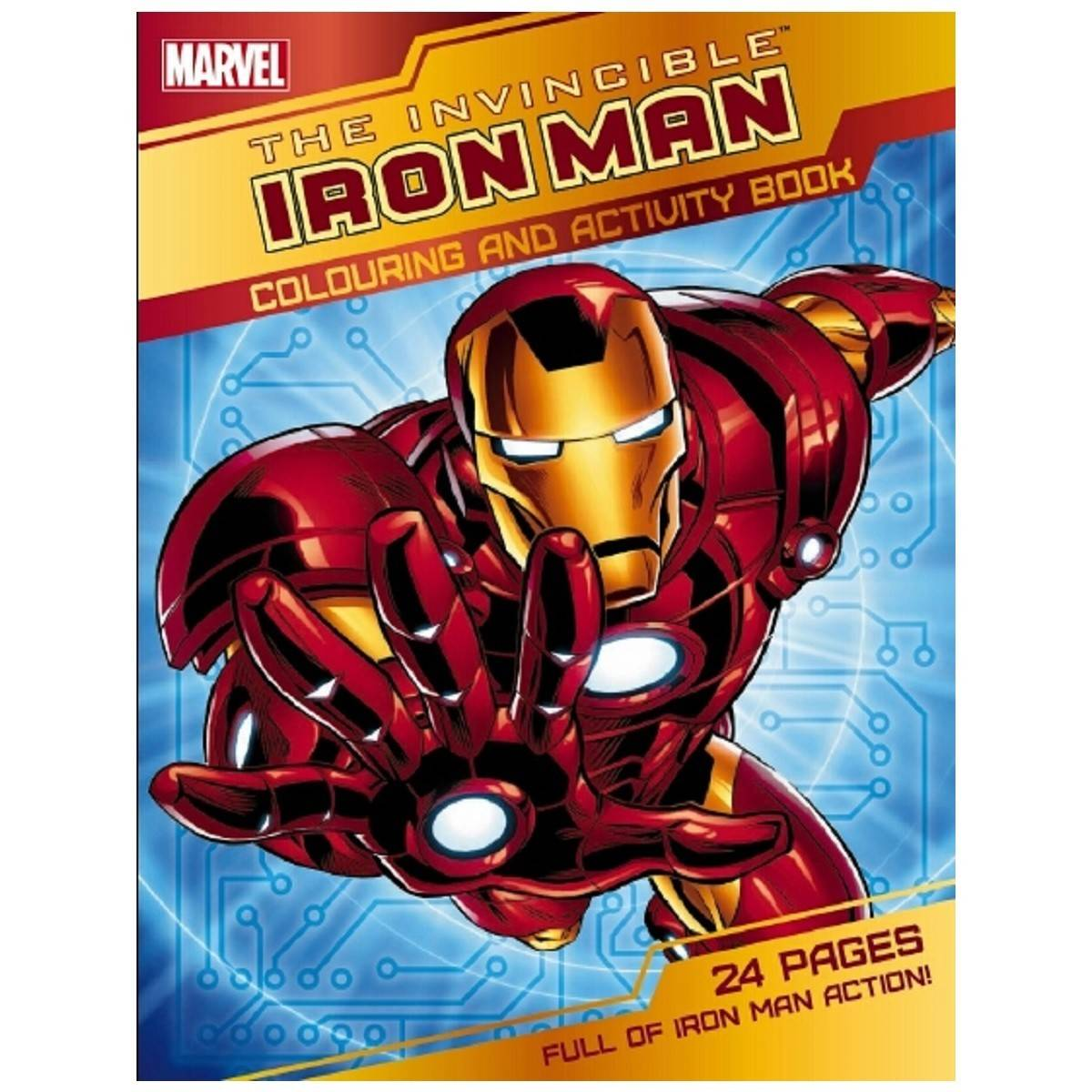 26 Invincible Iron Man Coloring Page Printable