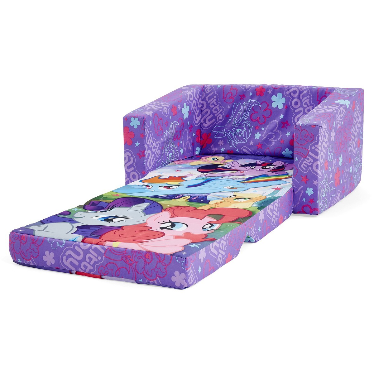 big w sofa cushions sectional with storage drawers my little pony kids flip out