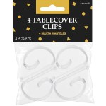 Table Cover Clips 4 Pack Big W