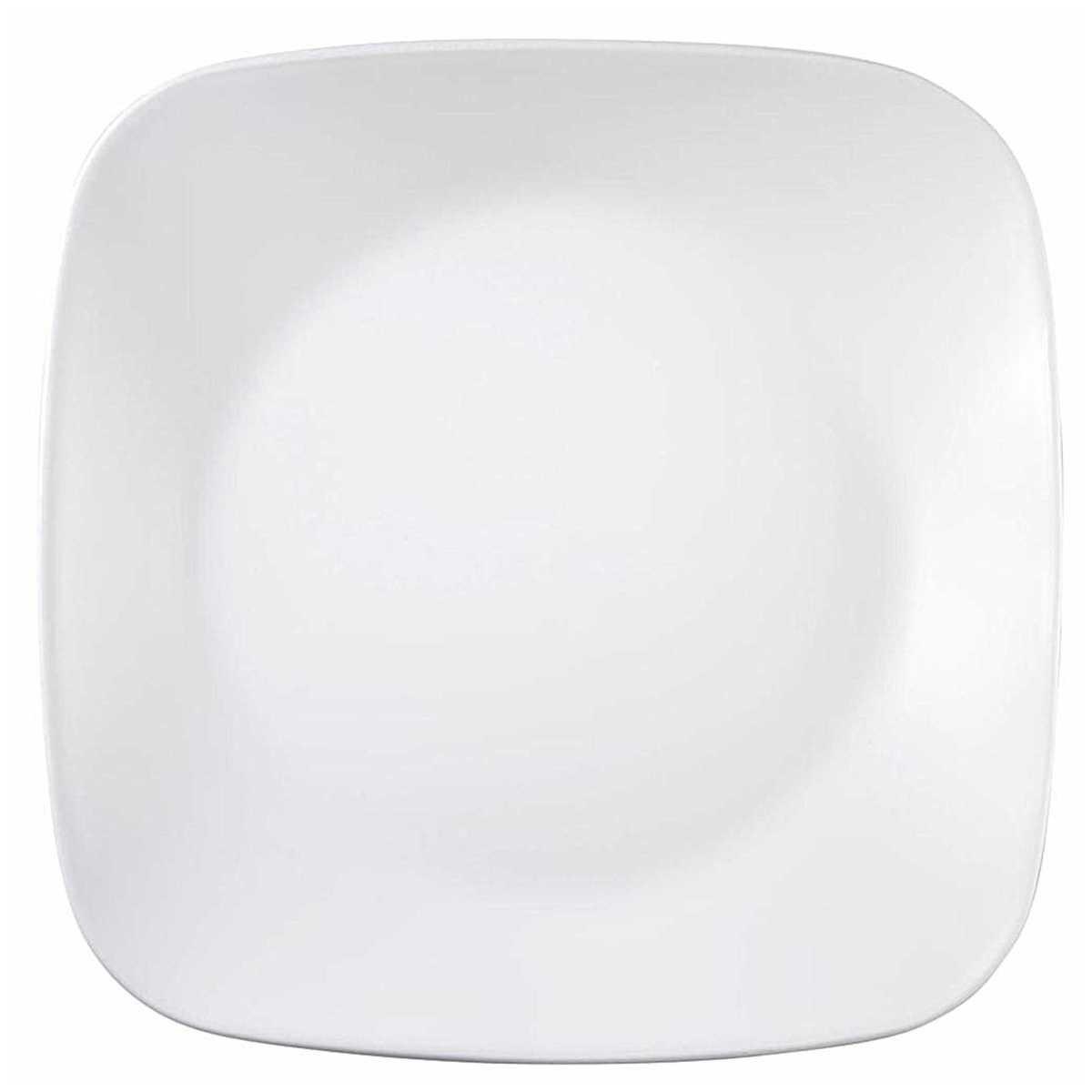 Corelle 16 Piece Pure White Square Dinner Set Big W