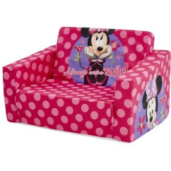 Your Zone Flip Chair Target Reclining Patio Chairs With Ottoman Kids Furniture Baby Big W Minnie Mouse Out Sofa