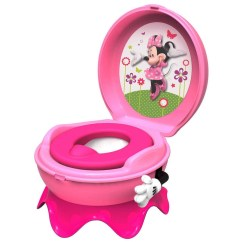 Best Beach Chair Reviews Minnie Mouse Covers 3 In 1 Flushing Sounds Potty - Pink | Big W